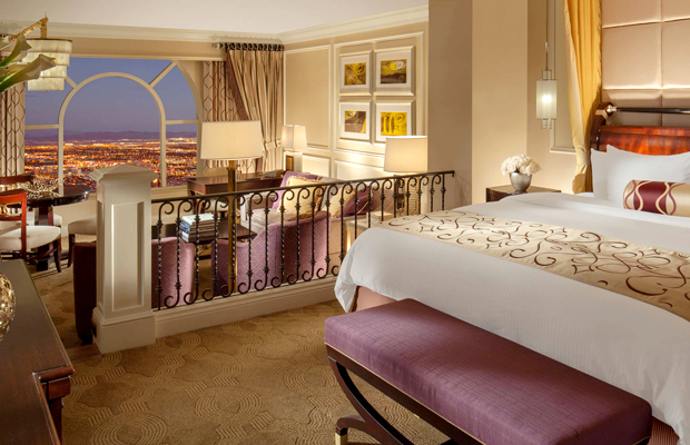 luxury suite at the venetian, las vegas