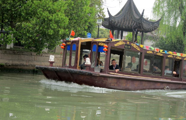 boat taxi, Suzhou, China