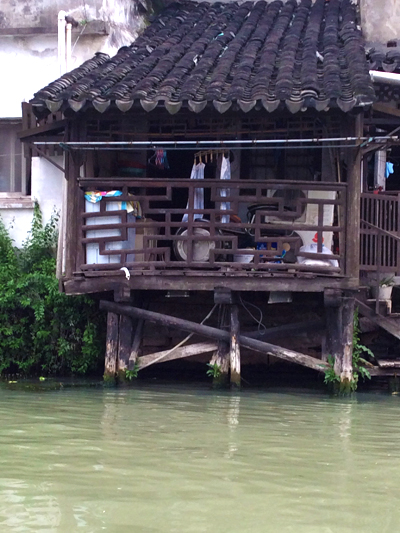canal house in Suzhou, China