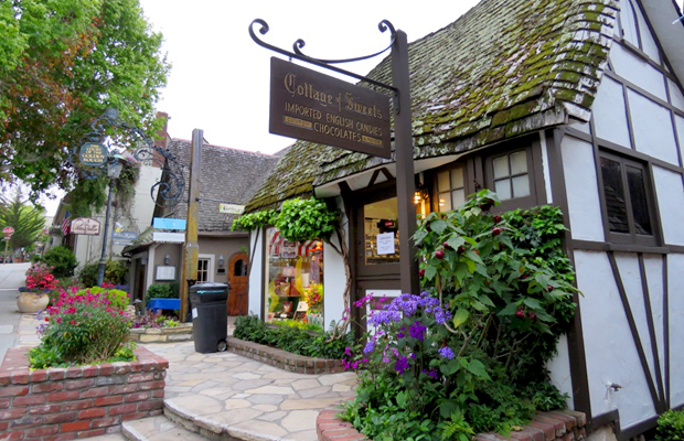 Comstock House Architecture Candy Shop - Carmel by the Sea, CA