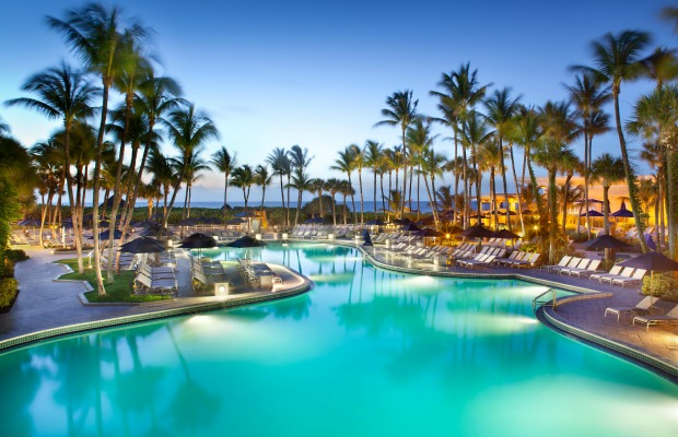 Fort Lauderdale Harbor Beach Marriott Resort & Spa pool
