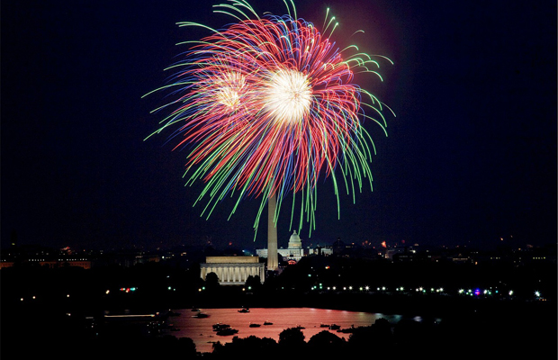 July 4 fireworks - washington dc