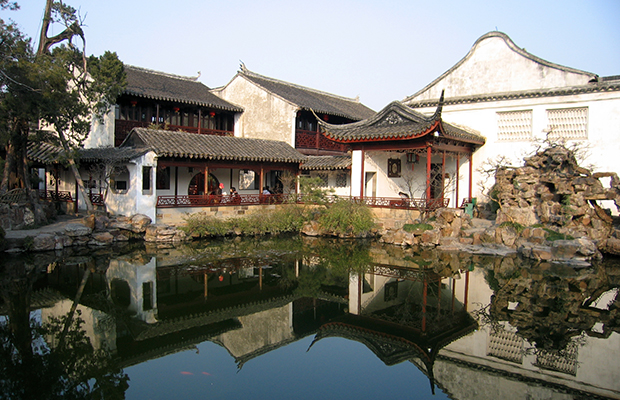 Master of Nets Garden in Suzhou, China