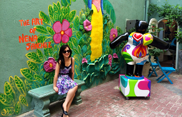 Nena Sanchez and Serena's Art Factory Willemstad Curacao
