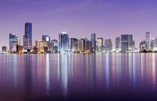 miami-skyline-reflected-istock