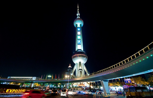 Oriental Pearl Radio and TV Tower, Shanghai, China