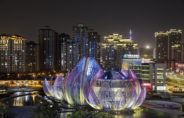 Lotus Building, Jiangsu, China