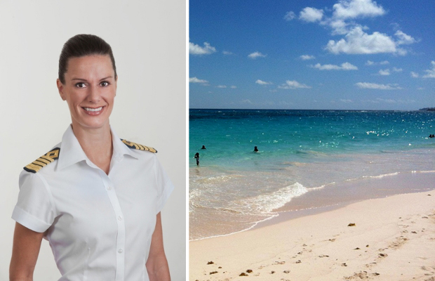 kate mccue first female captain on celebrity cruises