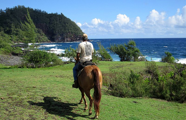 maui horseback riding with travaasa hana