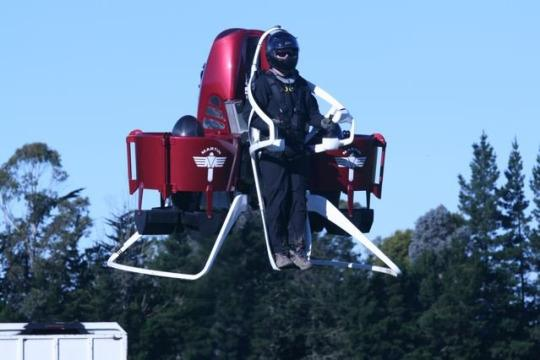 """practical jetpack"" from Martin Aircraft Company"