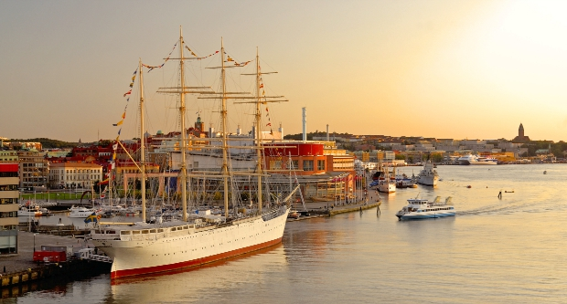 Gothenburg Harbor, Sweden