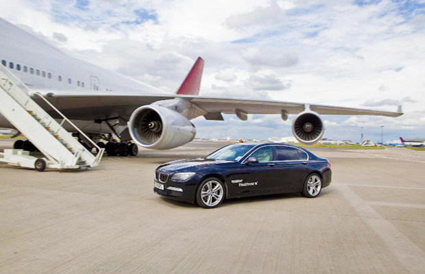 Heathrow VIP, which includes car service to plane on tarmac