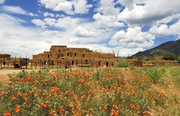 Taos-pueblo-new-mexico-is-perfect-for-a-budget-vacation-steve-larese