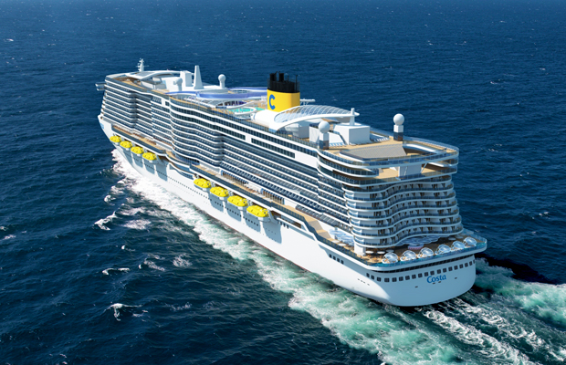 "costa cruises new liquefied natural gas ""green ships"""