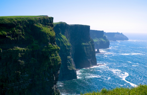 Cliffs of Moher in County Clare, Ireland - a great weekend trip from Dublin