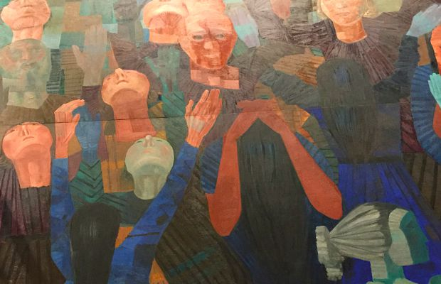 Candido Portinari's War & Peace Mural at the United Nations