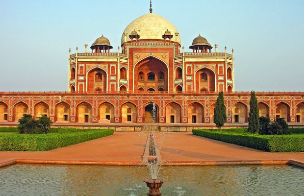 Humayun's Tomb in Delhia, India