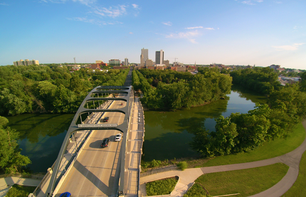 Fort Wayne, Indiana skyline