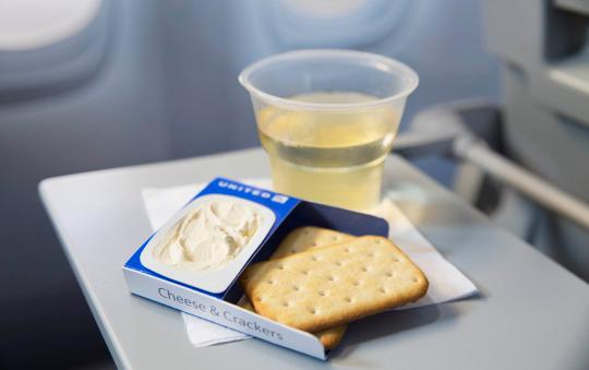 United cheese and crackers