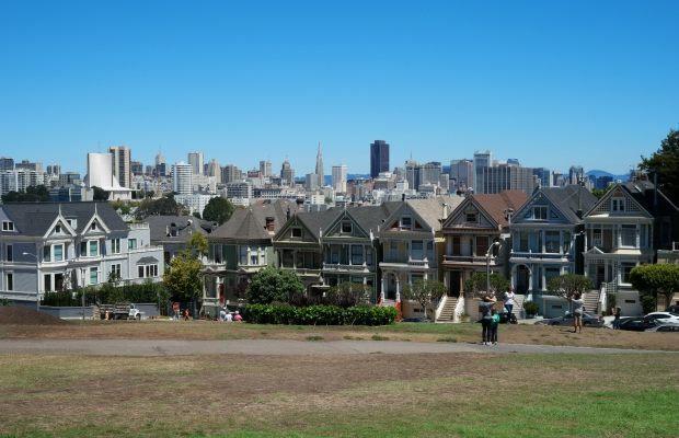 The Painted Ladies in San Francisco