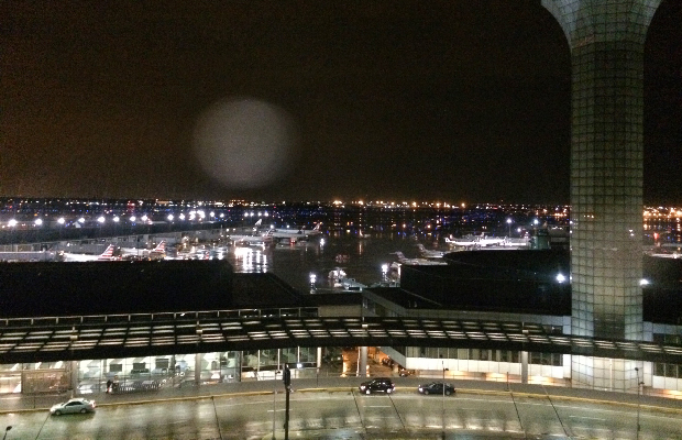 View from Hilton Chicago O'Hare Aiport