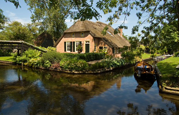 Giethoorn, Netherlands -- one of the Monopoly Here & Now: World Edition new destinations