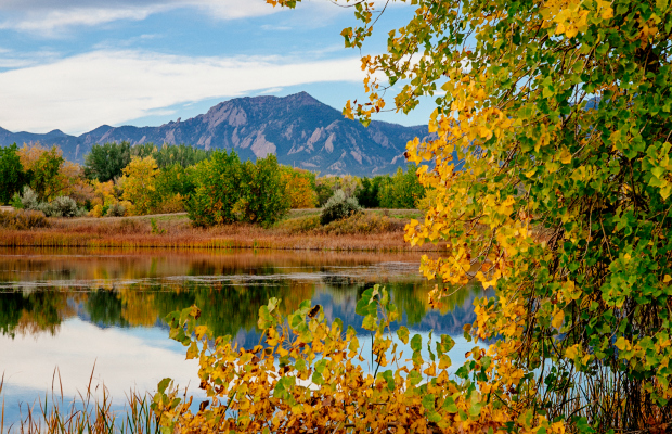 Boulder, Colorado - a great unexpected fall foliage vacation