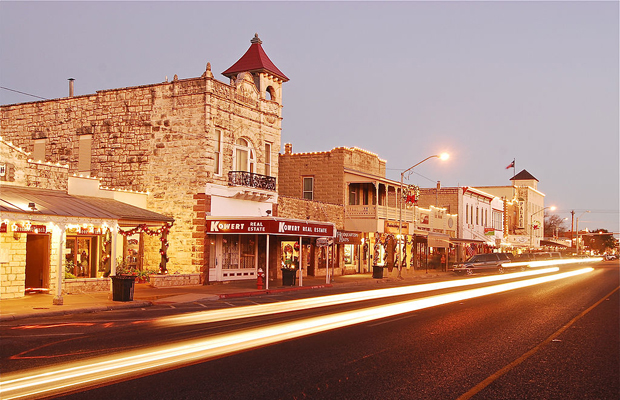 Main Street in Fredericksburg Texas