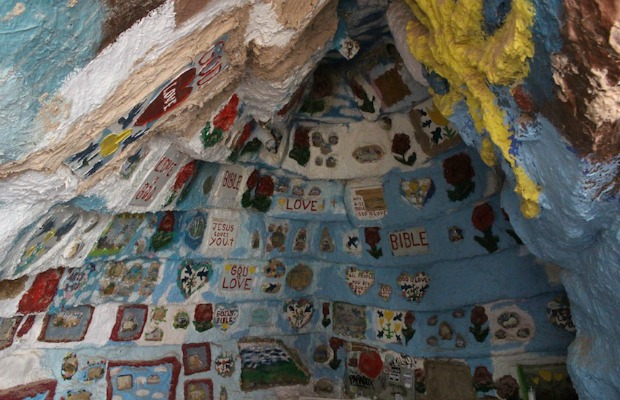 Salvation Mountain in California