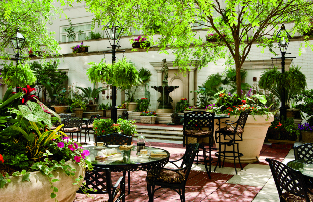 The Courtyard at The Ritz-Carlton, New Orleans