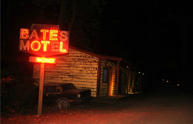 The Bates Motel and Haunted Hayride in Glen Mills, Pennsylvania
