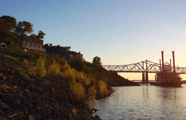 The River in Natchez