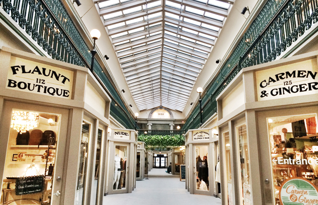 vintage shopping at providence arcade