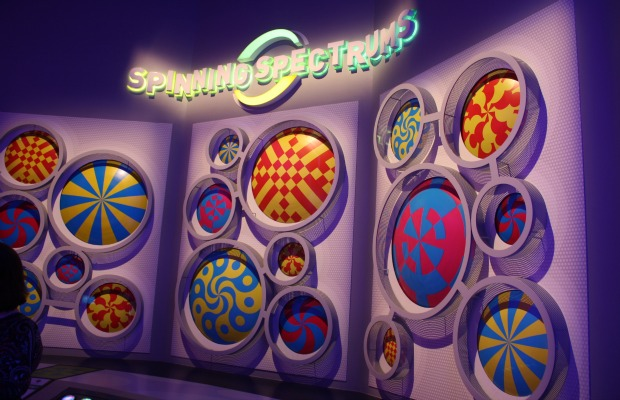 Colortopia's Spinning Spectrums at Epcot
