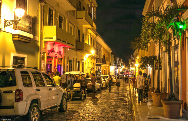 Nightlife in Old San Juan