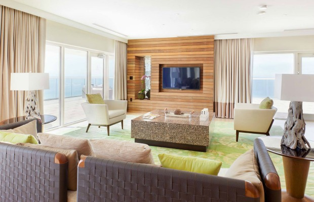 A suite at Florida's Marco Island Marriott Beach Resort, Golf Club & Spa