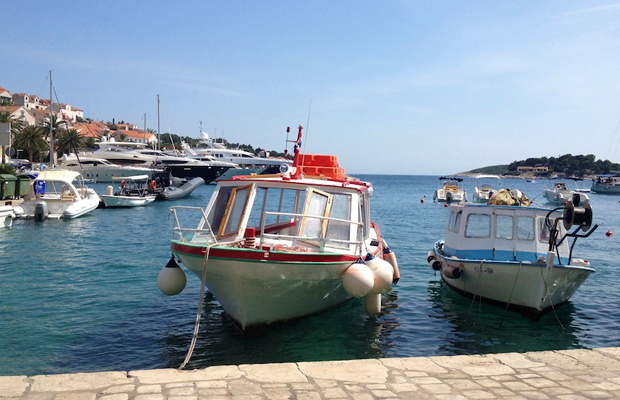Hvar, Croatia harbor