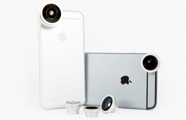 photojojo smartphone lenses, a great gift for travelers