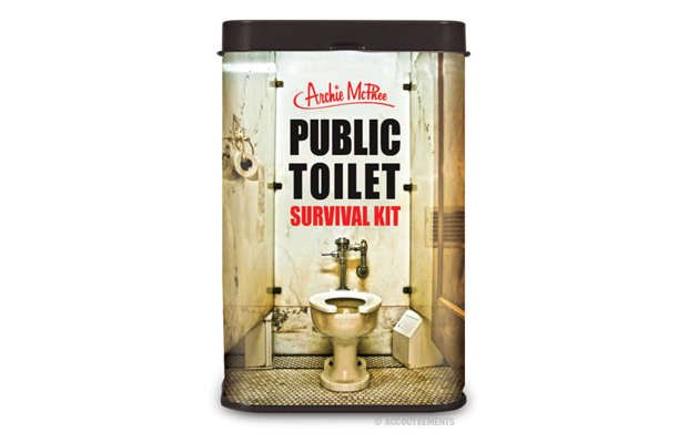 public toilet survival kit, a great gift for travelers