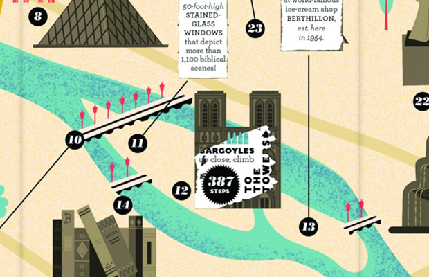 scratch off city maps -- paris, a great gift for travelers