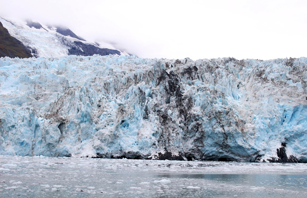 Alaska glacier, as seen from the 26 Glacier Cruise from Whittier - Nilina Mason-Campbell