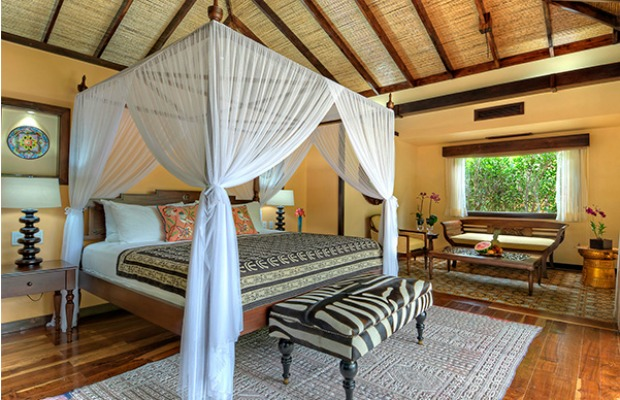 Bedroom at Nayara Springs in Costa Rica