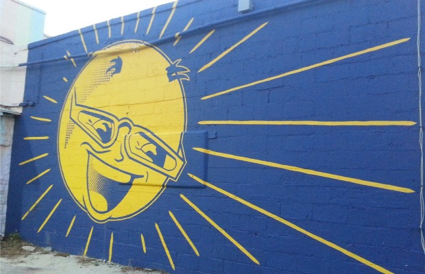 A Central Arts District mural in St. Pete Beach, Florida.