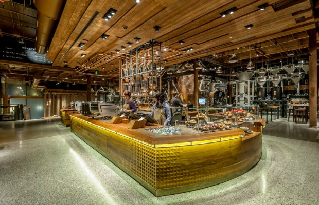 Starbucks Reserve and Roastery in Seattle