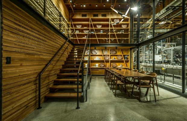 Library at Starbucks Reserve Roastery in Seattle