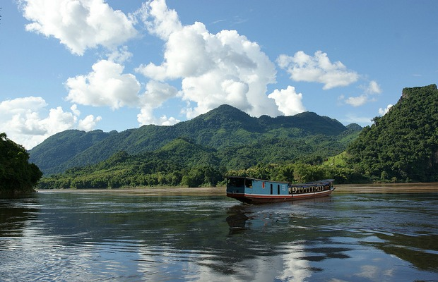 A river in Laos.