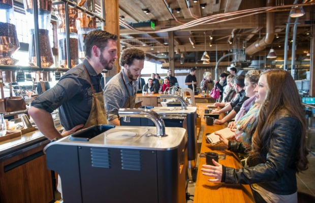 Seattle's Starbucks Reserve and Roastery