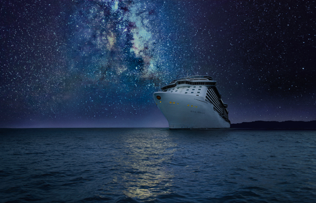 Stargazing at Sea, part of Princess Cruises' Discovery at Sea program