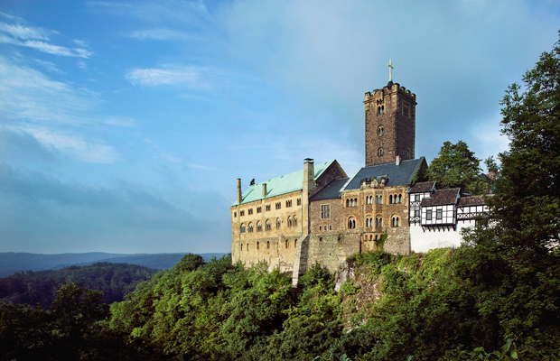 Wartburg Castle, Thuringian Forest, Germany
