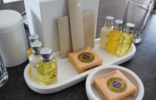 Zen Oasis toiletries in Punta Cana.